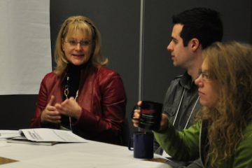 Claire Bolduc, présidente de Solidarité rurale du Québec, a proposé des pistes de réflexion. - Photo: N.Falcimaigne