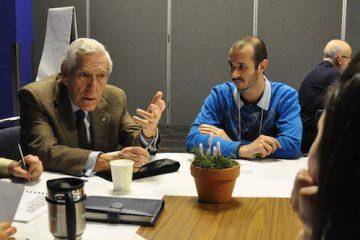 Claude Castonguay, le père du système de santé public au Québec, appuie le développement des coopératives de santé. - Photo: N.Falcimaigne