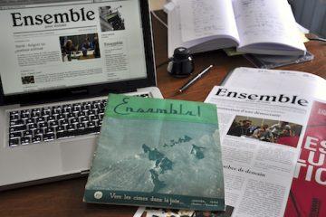 La revue Ensemble! entamait sa cinquième année d'existence en janvier 1944.