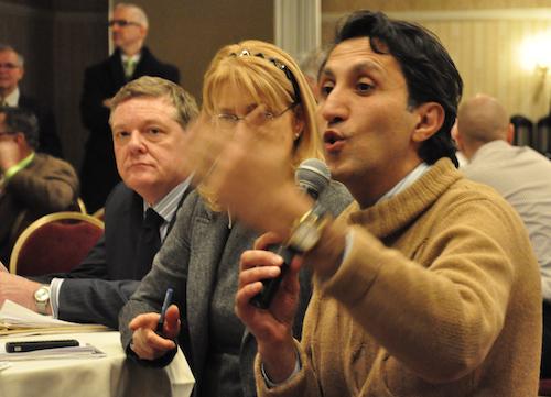 Les débats ont donné lieu à des échanges entre les élus de plusieurs partis politiques. - Photo: N.Falcimaigne