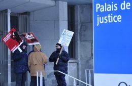 Les procureurs de la Couronne requèrent justice. - Photo: N.Falcimaigne