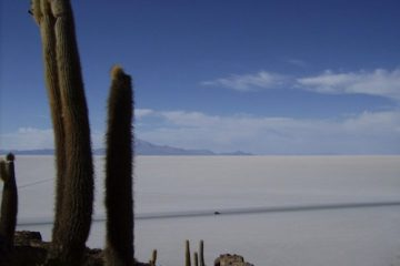 Le Salar de Uyuni, en Bolivie, où se trouve la plus grande réserve de lithium au monde. - Photo: R.Bougie