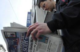 Le Soir, grand quotidien bruxellois, est membre de la coopérative des Journaux francophones belges (JFB). Photo: N.Falcimaigne