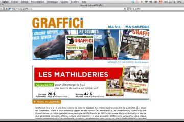 Dès septembre, le journal Graffici s'étendra au web avec le lancement d'une nouvelle plate-forme. Photo: N.Falcimaign