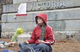 Le mouvement d'occupation donne de l'audace aux organisations qui œuvrent pour le changement social partout sur la planète. Photos: N.Falcimaigne