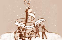 « On ne peut évincer une idée dont le temps est venu » Illustration: Camille Lavoie