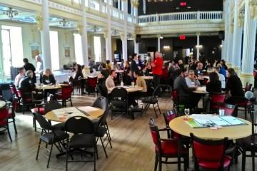Génération d'idées par groupes de travail au Chantier de l'économie sociale