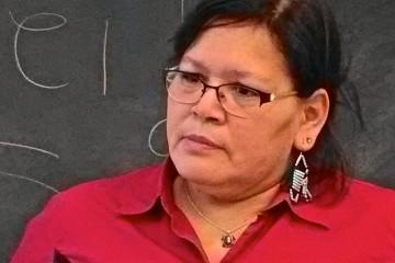 Viviane Michel, présidente de femmes autochtones au Québec Crédit photo : Marine Gaillard