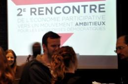 La rencontre rassemblait des représentantes et des représentants d'entreprises démocratiques et collectives de tous les horizons et vise à paver la voie pour l'événement Transform/er Montréal.